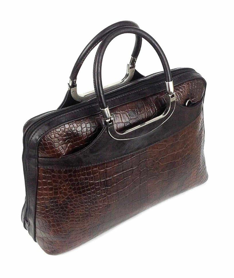 коричневый портфель Kenguru