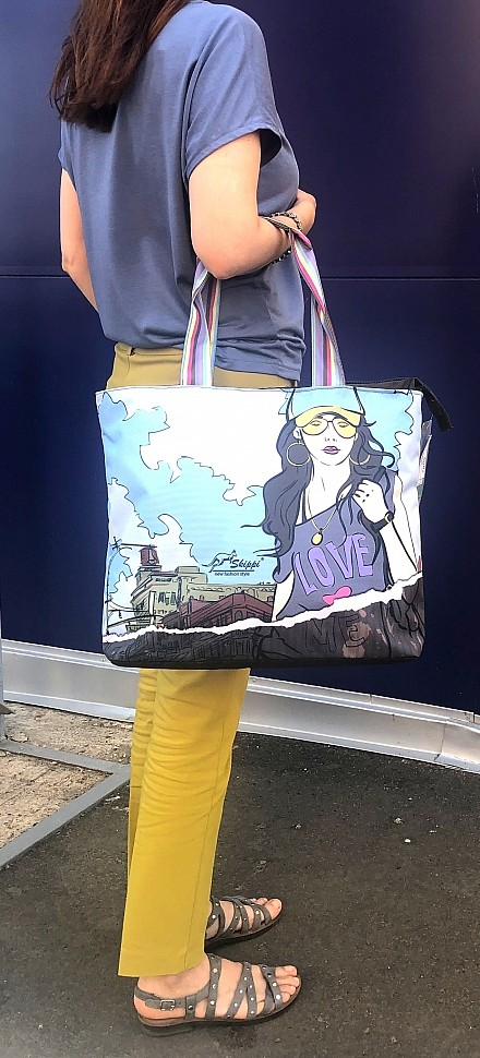Изображение тканевой сумки
