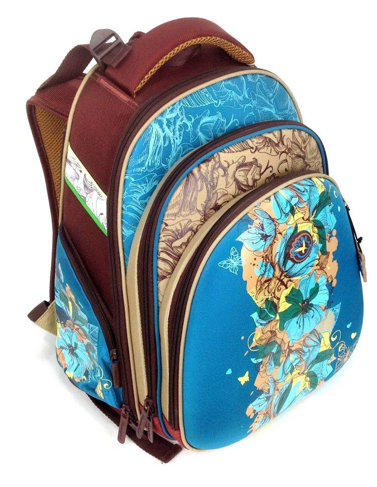 6f8057dbadc8 Рюкзак Hummingbird TEENS T32 голубые цветы купить по цене 6 300 руб ...